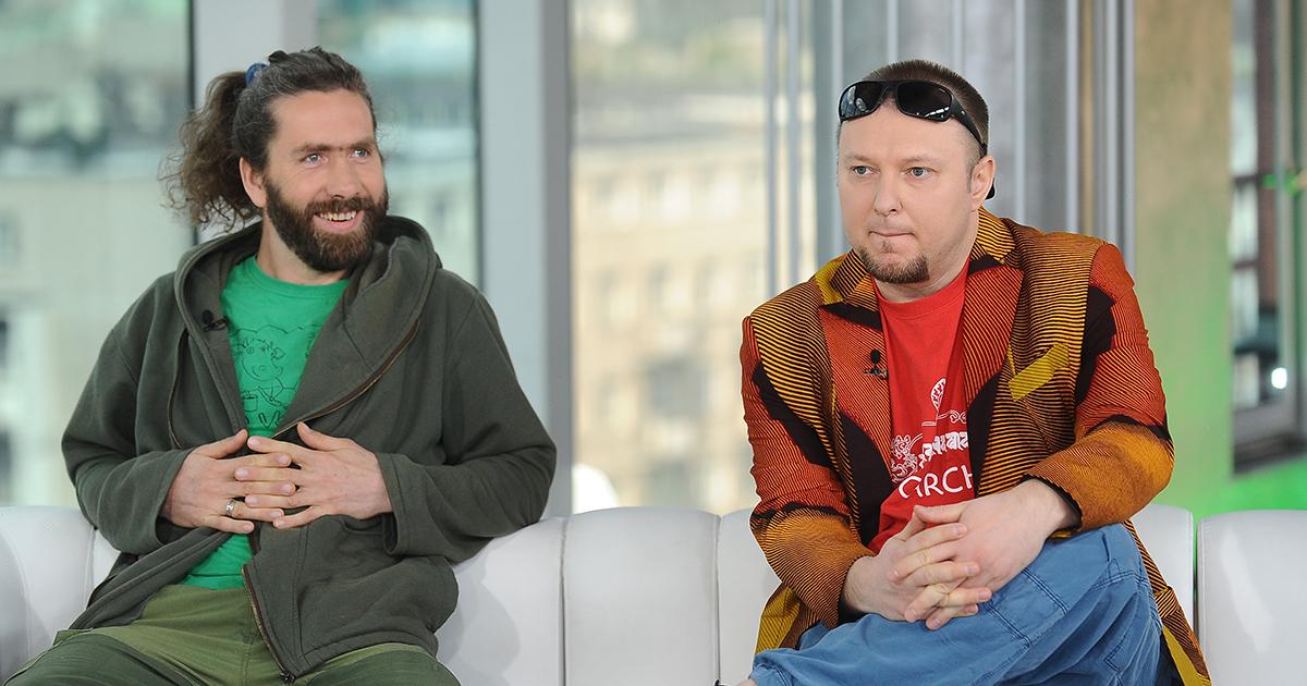 """Włodek """"Paprodziad"""",  Dembkowski i Piotr """"Wiernik"""" Wiernikowski"""